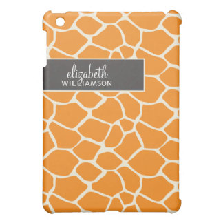 Coques Pour iPad Mini Girafe orange Pern