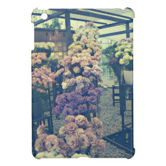 Coques Pour iPad Mini Jolies fleurs pourpres et roses
