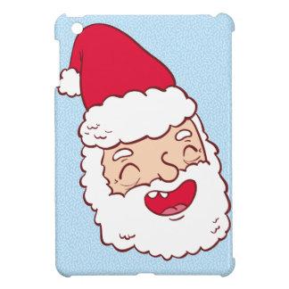 Coques Pour iPad Mini Le père noël drôle riant sa tête