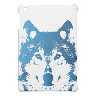 Coques Pour iPad Mini Loup de bleu glacier d'illustration