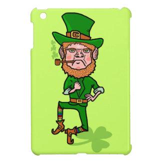 Coques Pour iPad Mini Lutin irlandais chanceux fâché drôle