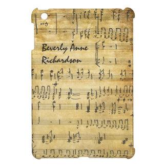 Coques Pour iPad Mini Mini cas d'arts de feuille d'iPad vintage de