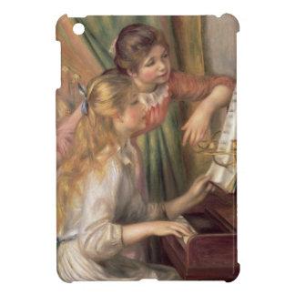 Coques Pour iPad Mini Pierre jeunes filles de Renoir un | au piano