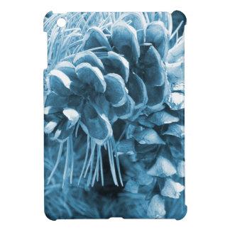 Coques Pour iPad Mini Pinecone primitif de bleu glacier de pin de Noël