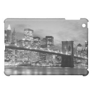 Coques Pour iPad Mini Pont de Brooklyn et horizon de Manhattan la nuit