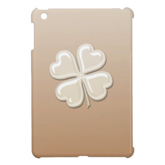 Coques Pour iPad Mini Shamrock chanceux de perle chic adorable avec du