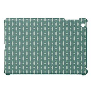 Coques Pour iPad Mini Vert et rideau perlé en pin