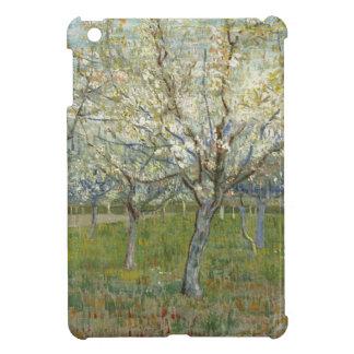 Coques Pour iPad Mini Vincent van Gogh le verger rose - peinture florale