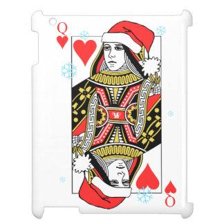 Coques Pour iPad Reine de Joyeux Noël des coeurs