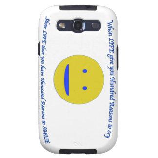Coques Samsung Galaxy S3 Sourire à la vie