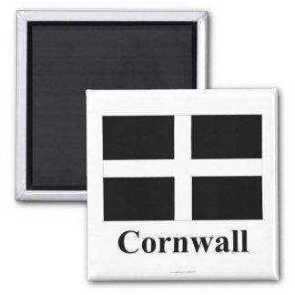 Cornwall Vlag met Naam Koelkast Magneet
