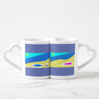 corps de plage mug