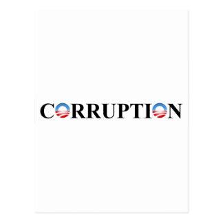 CORRUPTION CARTE POSTALE