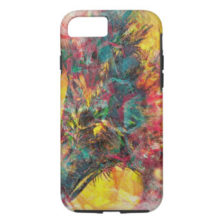 CostaRican abstrait Eagle aka Crazeagle Coque iPhone 7