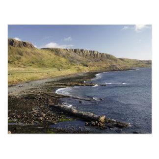 Côte chez Duntulm, île de Skye, Ecosse, unie Cartes Postales