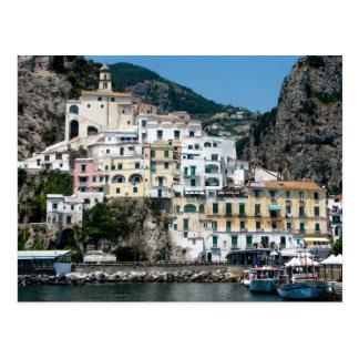Côte d'Amalfi, Italie - carte postale