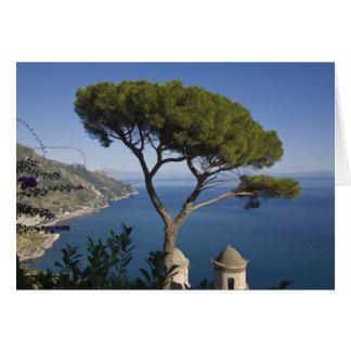 Côte d'Amalfi, Ravello, Campanie, Italie Carte