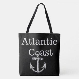côte d'Océan atlantique d'ancre de sac fourre-tout