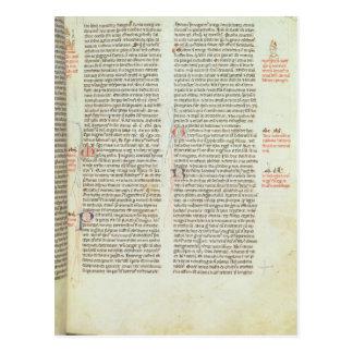Cott Nero D II f.114 Adrian IV Carte Postale