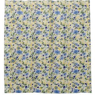 Cottage floral rideaux de douche