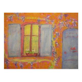 Cottage Provence France de glycines Carte Postale