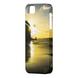 Couche le Soleil Plage iPhone 5 Coques iPhone 5 Case-Mate