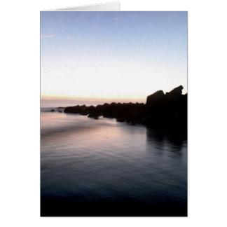 Coucher du soleil à la plage de Coronado Carte