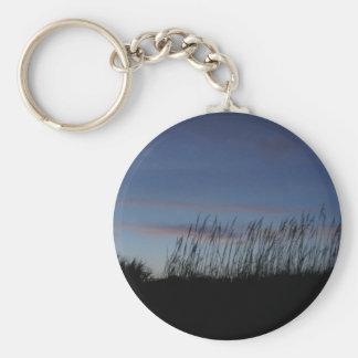 Coucher du soleil à la plage porte-clés