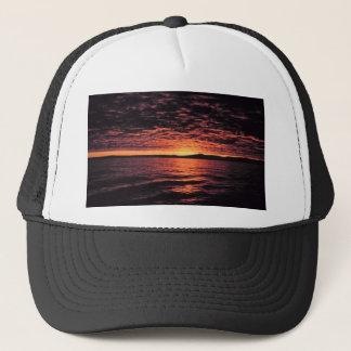 Coucher du soleil de mer de Béring Casquette