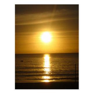 Coucher du soleil de Tangalooma Carte Postale