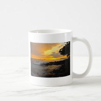 Coucher du soleil hawaïen mug