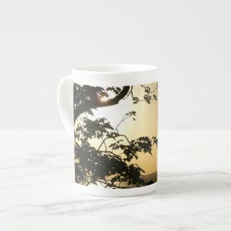 Coucher du soleil par la photographie tropicale mug