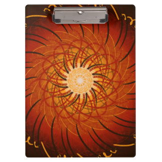 Coucher du soleil personnalisable (spirograph
