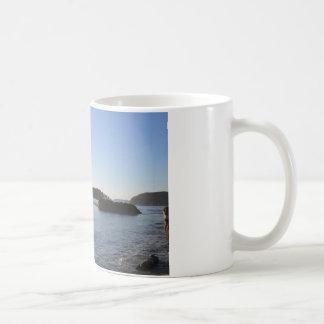 Coucher du soleil sur l'océan mug