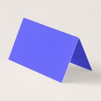 Couleur bleue sincèrement de inspiration carte de visite