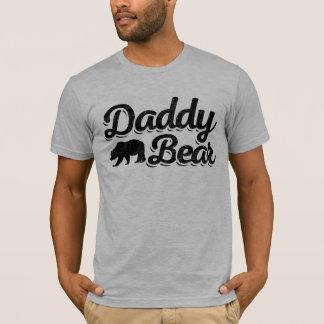 Couleur claire d'ours de papa t-shirt