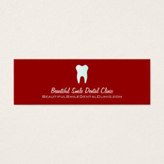 Couleur de cartes de rendez-vous de dentiste
