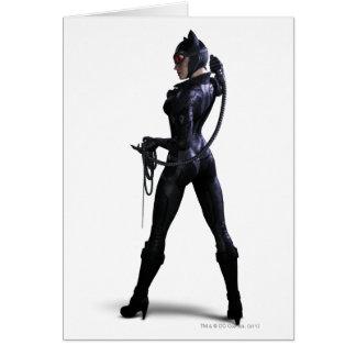 Couleur de Catwoman Carte De Vœux
