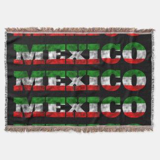 Couleur de drapeau du Mexique Couverture