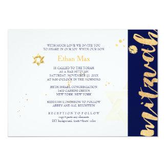 Couleur de PixDezines Carton D'invitation 12,7 Cm X 17,78 Cm