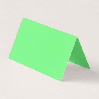Couleur G07 verte Carte De Visite