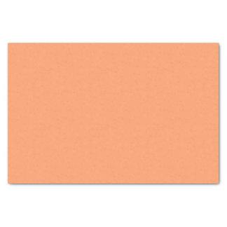 Couleur orange doucement tranquille papier mousseline