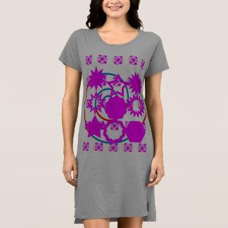 Couleurs américaines de la robe 4 de T-shirt de
