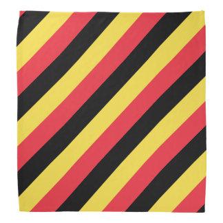 Couleurs belges du bandana | de drapeau de la Belg