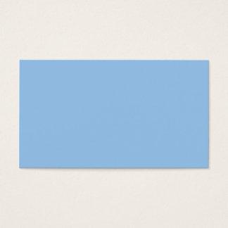 Couleurs bleues et roses carte de visite standard
