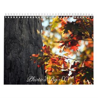 couleurs d'automne calendriers