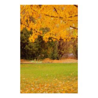 Couleurs d'automne papeterie