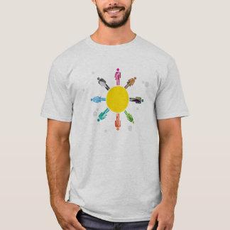 Couleurs de diversité t-shirt