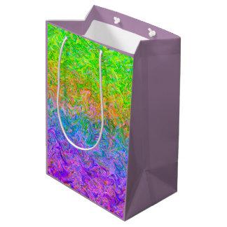 Couleurs de fluide de sac de cadeau