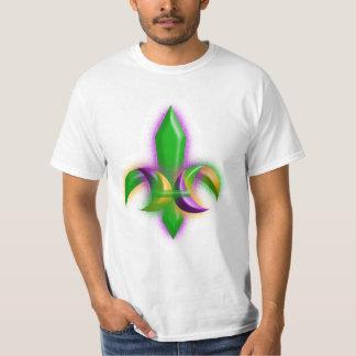 Couleurs de mardi gras de la Nouvelle-Orléans T-shirt